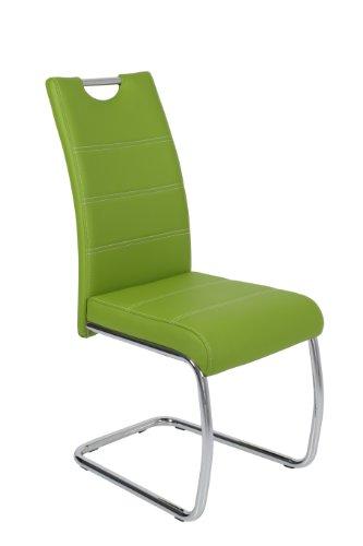 Schwingstuhl Flora 4er Set Grün Apollo - 7